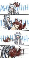 rubyfluff is excited to see weiss by pockynuko12000
