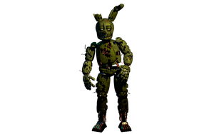 Springtrap hopefully vLast WIP 7 by PuppetFactory
