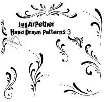 Hand Drawn Patterns 3 by JagArPether