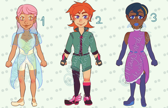 :Sky High Fashion: Adopts [3/3 OPEN] by MayStardust