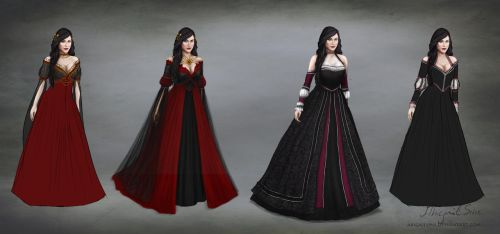 Anne dresses- concepts and alternatives - ANDERNYA by AbigailSins