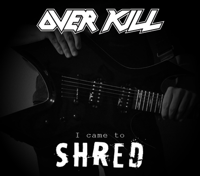 Custom Album Cover: Overkill - Shred by rubenick