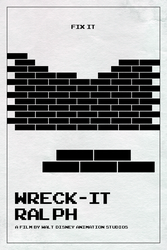 Wreck-It Ralph poster (2012 in Hindsight #13) by ll-og
