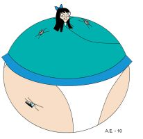 Stacy Hirano inflated by ZigZag123