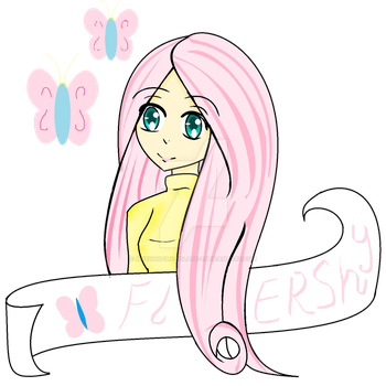my fluttershy pic-ms paint! by Noxiouschocolate-3