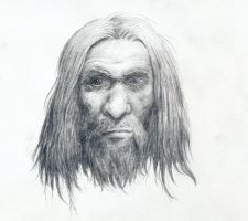 Neanderthal man face by Mihin89