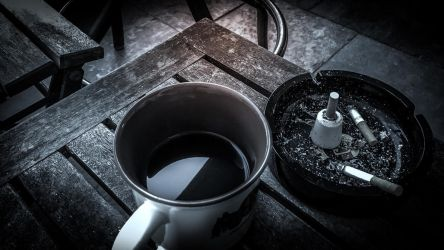 Knife in Morning Coffee by nonculture