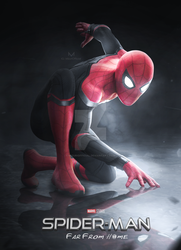 SPIDERMAN - FAR FROM HOME (BLACK SUIT) by iMizuri