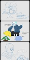 Undertale Stuffs by GoldenDrakAngel