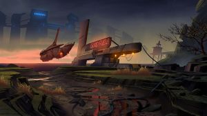 Fueling Station by Farkwhad