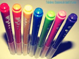 Coloured pencils by Fabulous-Shannen