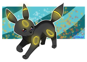 DAY 01 _ Favorite Eevee Evolution - UMBREON by FoMNLiNX