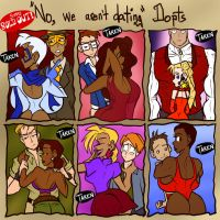 'No, we aren't dating' Dopts - SOLD OUT by JonFreeman