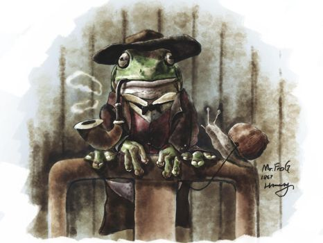 Mr Frog by hannay1982