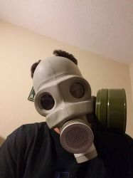 Soviet PMG gas mask by SteinwayHusky