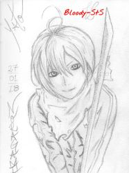 Yato - Noragami by Bloody-sts