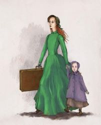 Sugar and Sophie Rackham by Gogolle