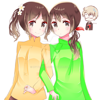 [APH] Indonesia and Vietnam by IcyTeapot