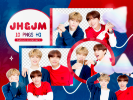 PNG PACK: J-Hope and Jimin by Hallyumi