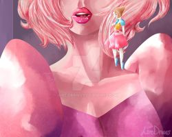 Su Pearl Standing by Aire-Draws