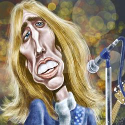 TomPetty-caricatureresolution2018-day23 by bre-bro