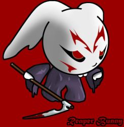 RAWR i am the reaper bunny... by BunnyReaper