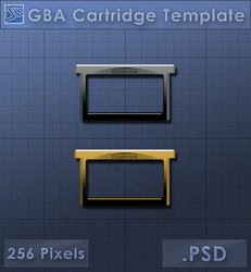 GBA Cartridge Icon [Template] by VoidSentinel