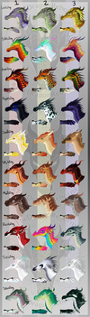 June 2018 WoF Single Tribe Adopts [ALL SOLD] by xTheDragonRebornx