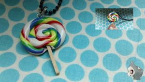Lollipop Necklace by BeppasCreations