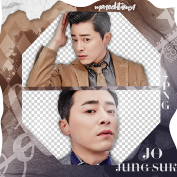 #PACK PNG# Jo Jung Suk. by MarEditions1