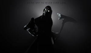 Of to never ever land..(Contest submission) by CobaltDrawing