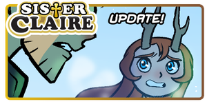 Sister Claire: Comic Update by Yamino