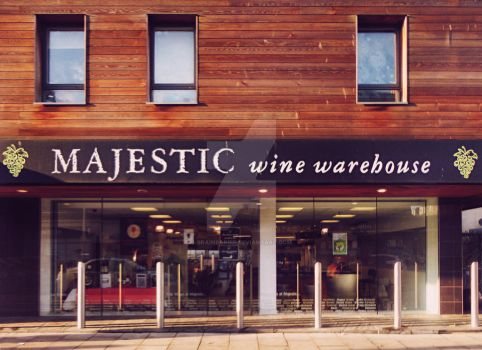 The Majestic Wine Warehouse - Edinburgh - Scotland by Brainbarbie