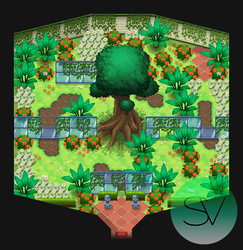 Coroflore City Pokemon Gym by SailorVicious