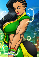 -SFV Laura- colors by JP by Dualmask