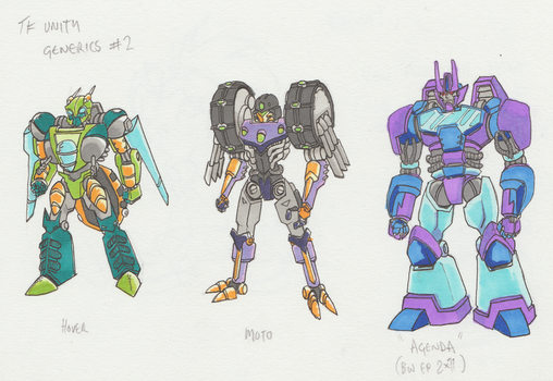 TFU Predacon Civilians 2 by Zero-Kaiser