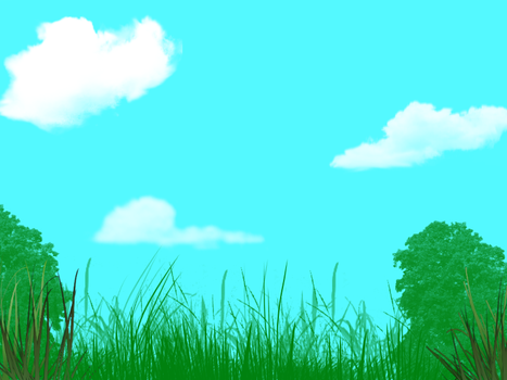I tried a background since i have new brushes. YAY by AquapawtheCat2017