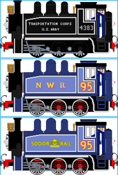 Cinder the USA Dock Tank Engine by Galaxy-Afro