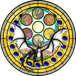 Illuzo Stained Glass by Seeraphine