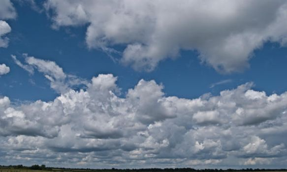 light summer clouds by amka-stock