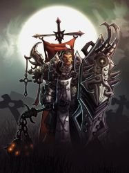 Diablo 3 Reaper of Soul Crusader by nigelhimself