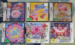 Kirby DS/3DS Games by CheerBearsFan