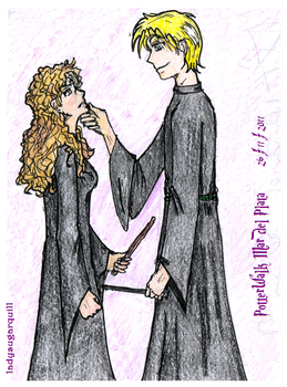 Dramione .color. by ladysugarquill