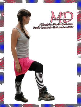 Me, pink, boots, stock, png by Miha3lla