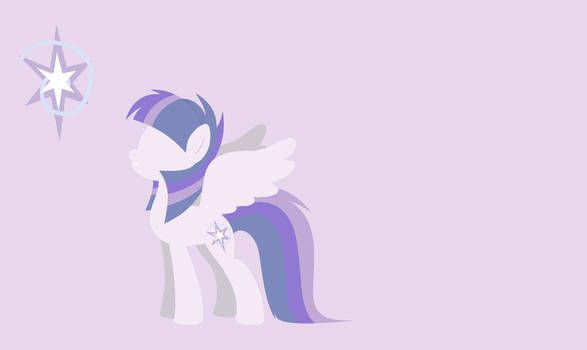 MLP Silver Sentry Background by WingLightYT