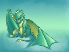 Little Dragon by tushkanchic