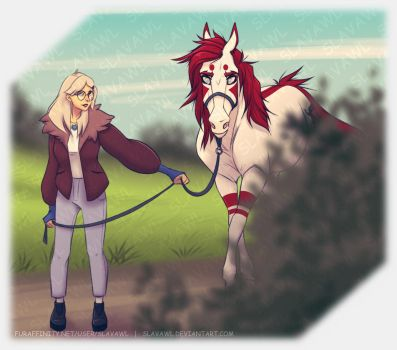 [PA]: Arrival at the stable by SlavaWL