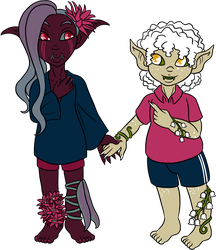 Advent Cal DAy 23 - Contrasted Love (OTP) by Prismativity