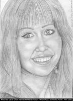Miley Cyrus  19th B-day drawing - final by AndRay-BF