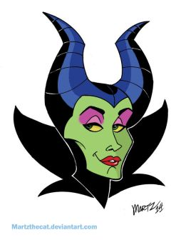MALEFICENT fanart by Martzthecat